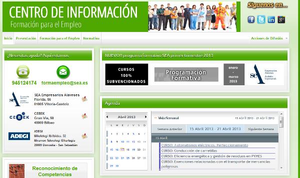 Centro de Información - Formación para el Empleo
